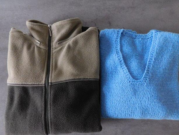 Oddam za darmo ciepłą bluzę polarową i sweterek, rozmiar M