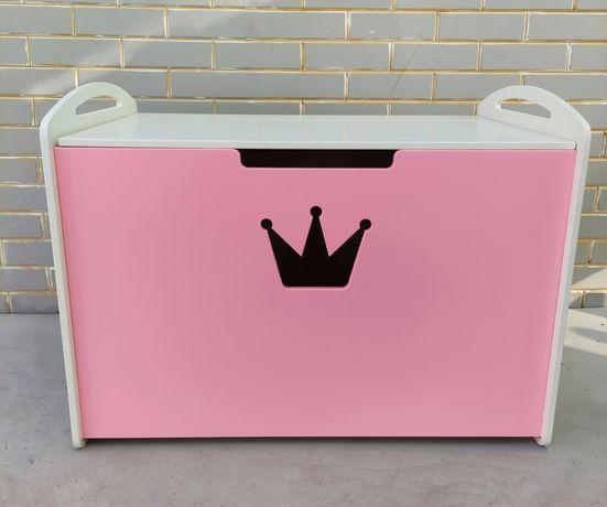 Сундук ящик корзина для детских игрушек для девочки и мальчика