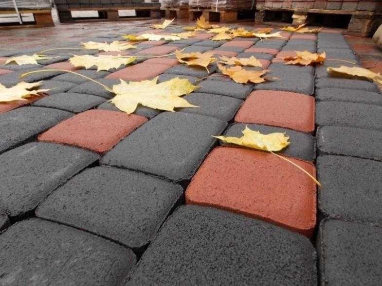 Тротуарная плитка вибропрессованная Литос