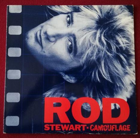Rod Stewart - Camouflage, GER, EX winyl