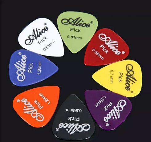 Conjunto pack de 6 palhetas para Guitarra Bandolim Ukelele