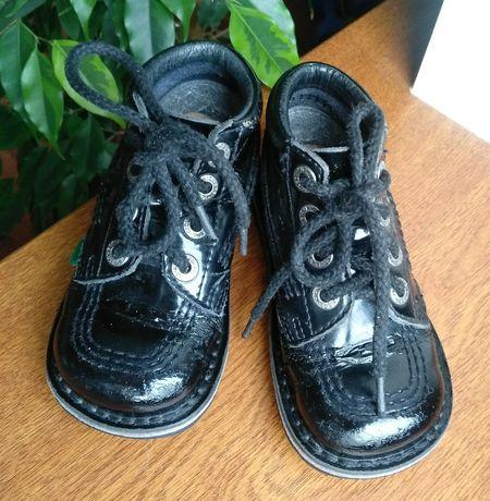 Ботинки ботиночки кроссовки Деми туфли кожа кожанные