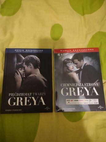 Zestaw DVD Pięćdziesiąt twarzy Greya