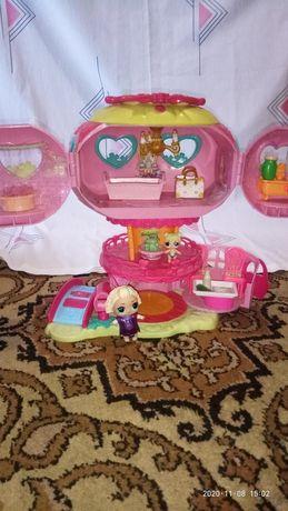 Домик с куколками лол оригинальной