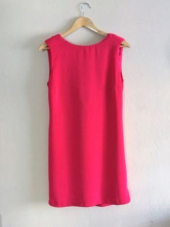 ZARA sukienka na wesele czerwona dekolt na plecach M 38