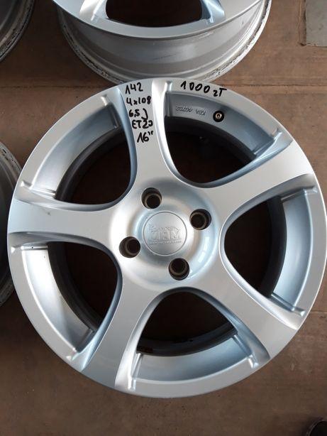 142 Felgi Aluminiowe 4x108 R16 Peugeot Citroen