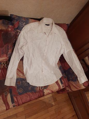 Рубашка белая blue ince