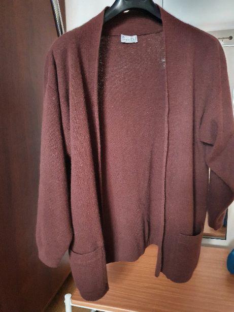 sweter r.L,XL - angora, lammwolle