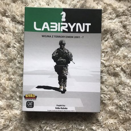 Gra planszowa Labirynt Wojna z Terroryzmem 2001 Nowa