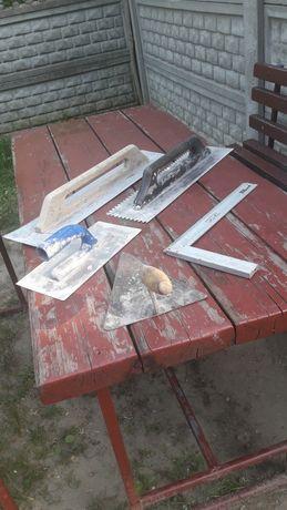 Narzędzia murarskie używane