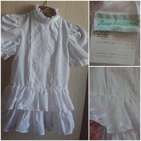 Нарядное белоснежное платье .Rare Editions.США.