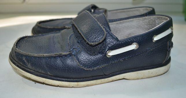 туфлі мокасини на хлопчика, Шкіра натуральна 32р