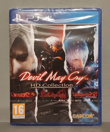 PlayStation 4! Devil May Cry HD Collection! PS4 - Polecam