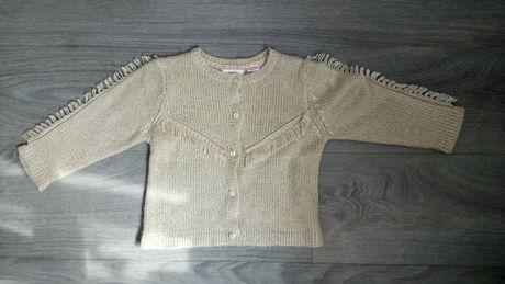 Sweter zara 98 raz założony