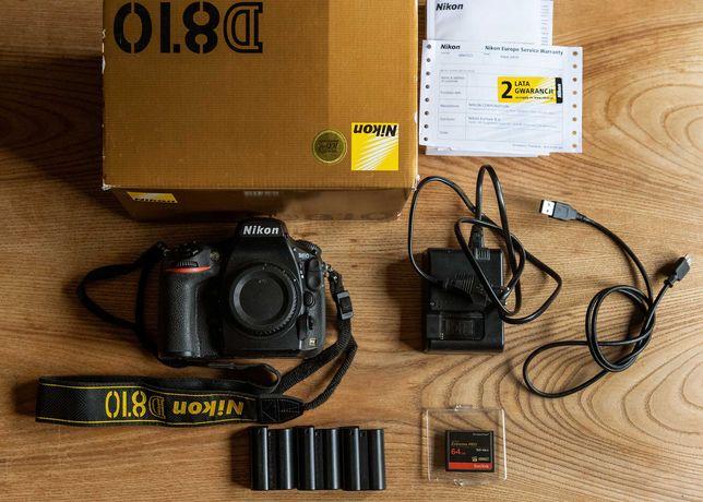Korpus Nikon D 810 + karta 64gb extreme pro +3 baterie , pudełko