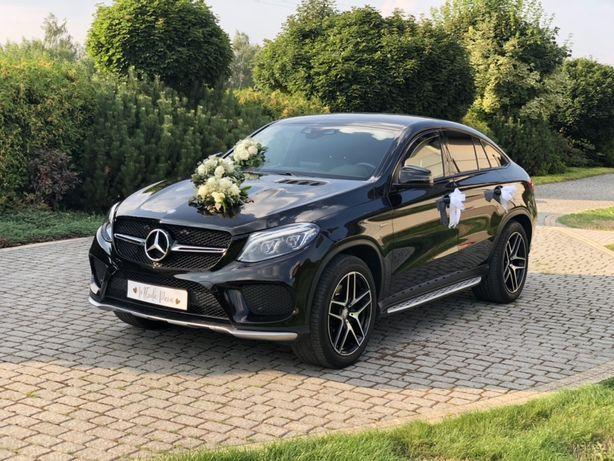 Auto do ślubu Mercedes GLE 450 AMG 400 KM sportowy wydech