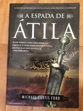 Livro A Espada de Átila