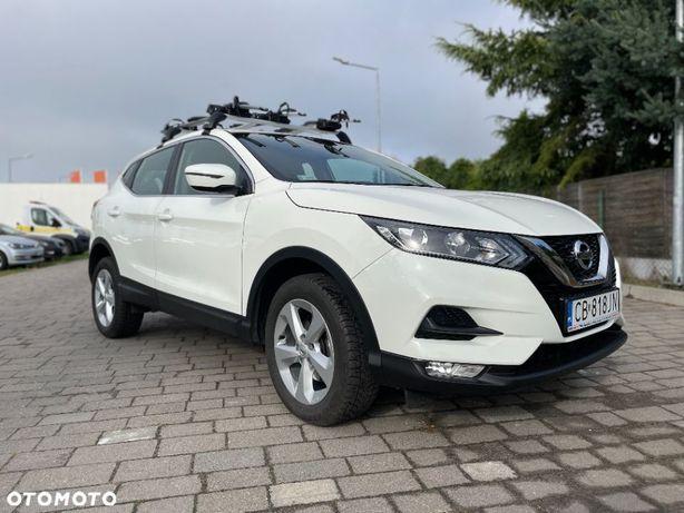 Nissan Qashqai 1.3DIG T Accenta 140KM 2019rok 21tys przebieg PL Salon FV23%