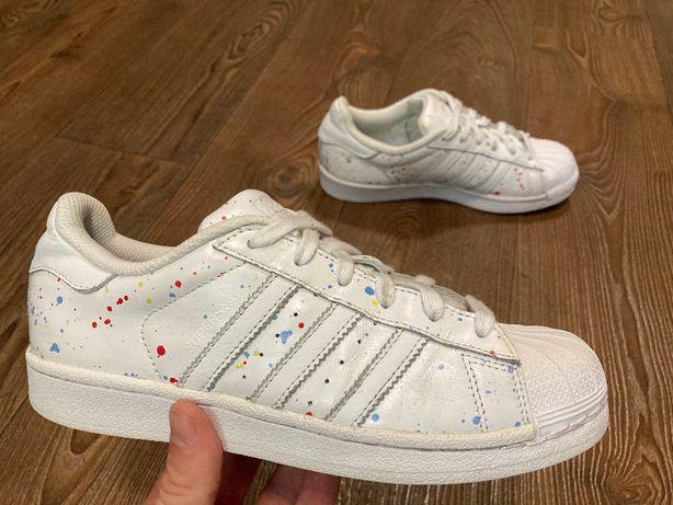 Кроссовки adidas Superstar оригинал унисекс размер 36,5 б у