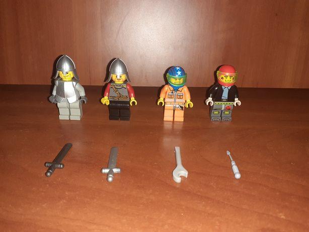 Figurki lego z dodatkami