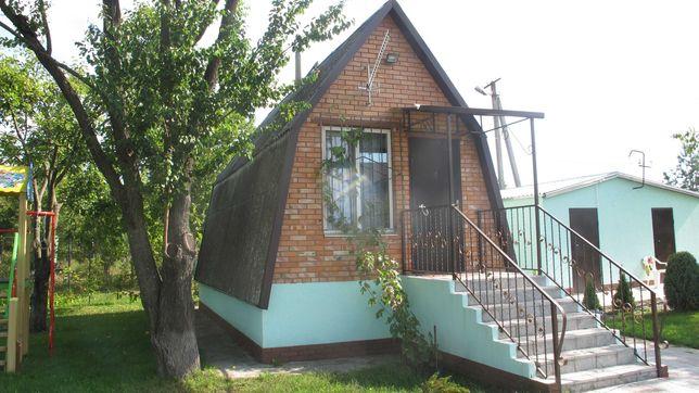 Продам дом дачу возле Днепра 12 соток, первая от леса, рядом река