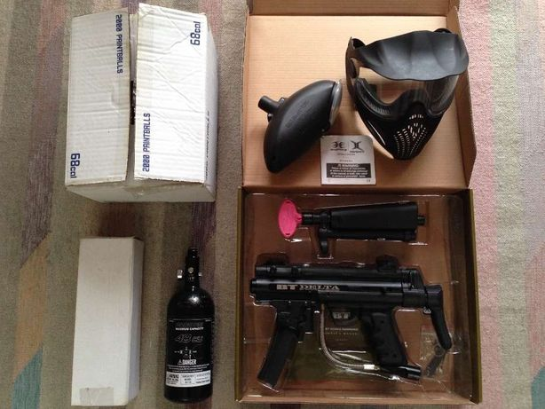 Marcador Paintball BT Delta (Conjunto)