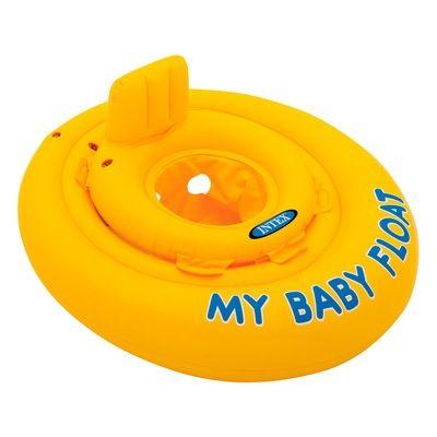 Надувной круг плот для малыша Intex