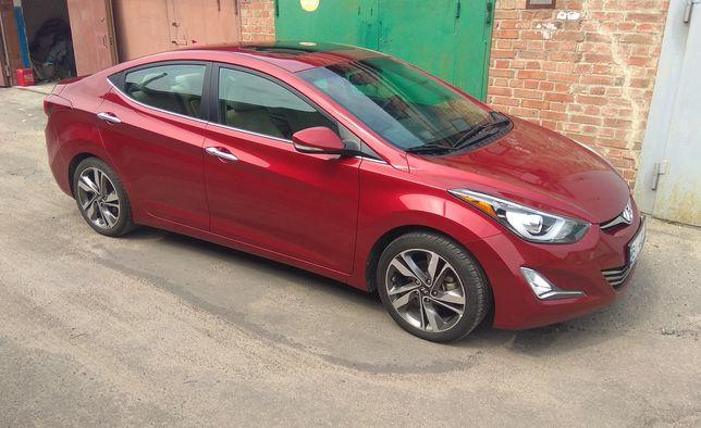 Hyundai Elantra Limited 2015г ГБО