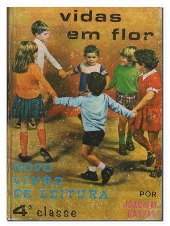 """Vidas em flôr – Novo Livro de Leitura – 4ª Classe"""", 11ª edição, 1972"""