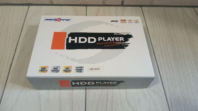 """Player 2.5"""" HDD DivX Maxxtro MP-402S"""