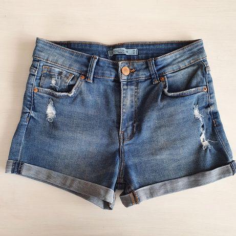 Nowe krótkie spodenki jeansowe szorty Bershka 36 s