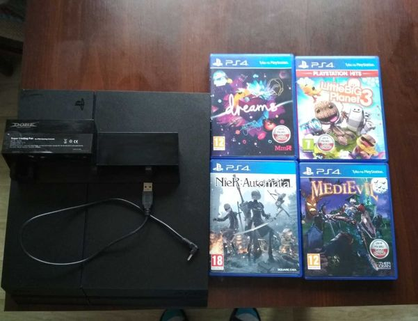 Playstation  4 1TB 4xGry PS4