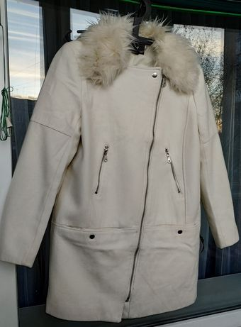 Шерстяное пальто косуха h&m. Размер 48