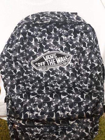 Plecak VANS czarno-biały