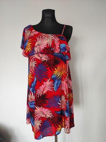 Letnia sukienka, piękne kolory
