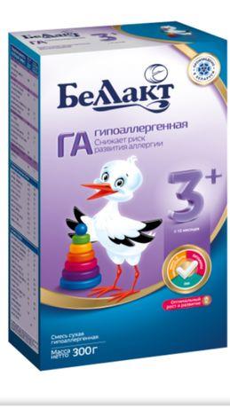 Продам смесь Беллакт ГА 3+