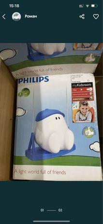 Philips светильник детский лампа в детскую люстра