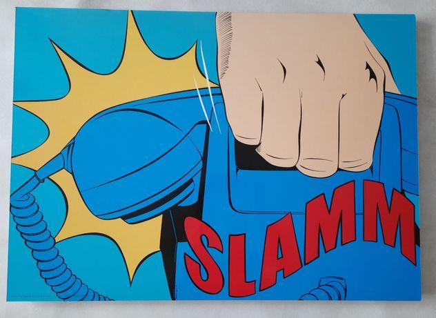 Obraz * SOLMYRA * pop art plakat IKEA 70/50