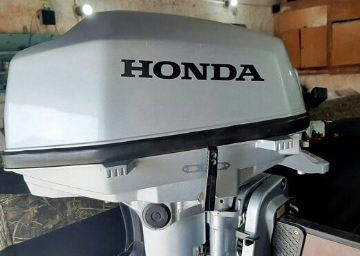 Лодочный мотор Honda BF5A 2013г идеал