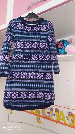 Платье теплое на 5 лет