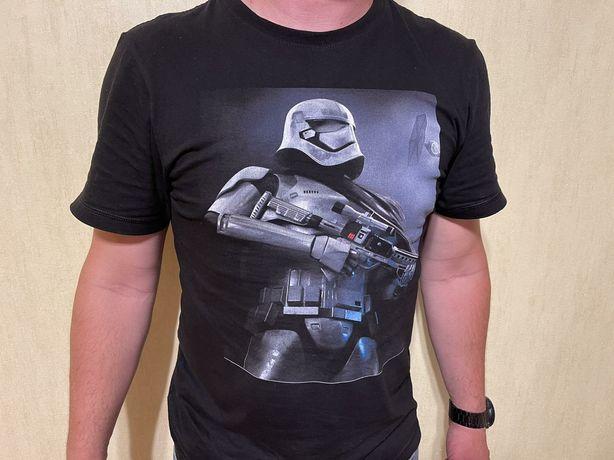 Мужская футболка с принтом. Печать лого, фото, герои. Индивидуал пошив