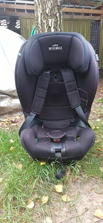 Axkid Wolmax fotelik 9-25kg RWF tyłem na pasy dla dzieci samochodowy