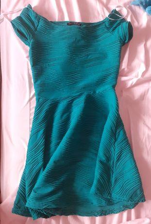 Vestido verde t 38