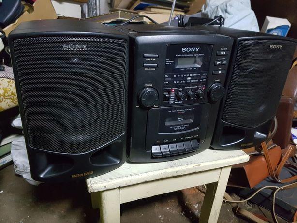 Wieża Sony Mega Bass Sony CFD-505