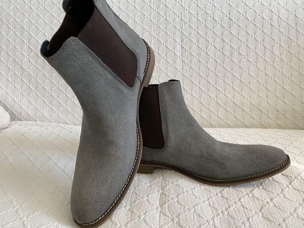 Ботинки Челси Asos Замша
