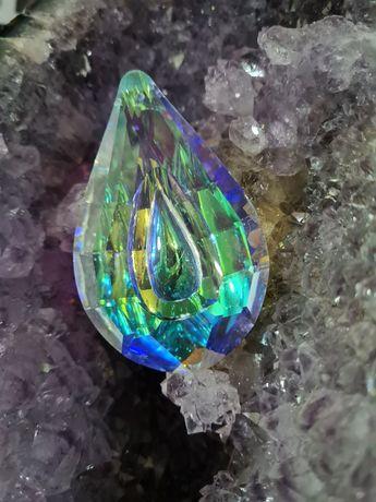 Prisma multifacetado colorido