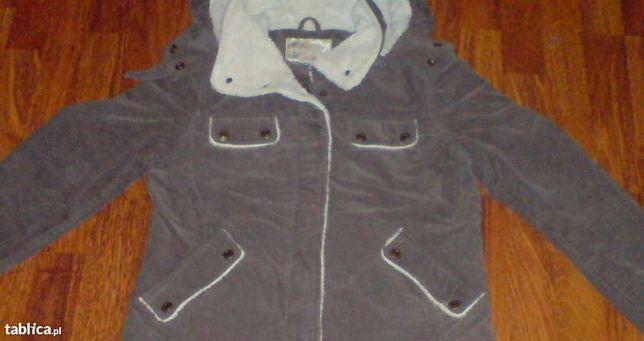 ORSAY kurtka wiosna/jesień, brązowa sztruksowa, rozmiar 38 (M)
