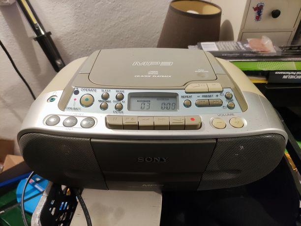 Radioodtwarzacz Sony CD MP3