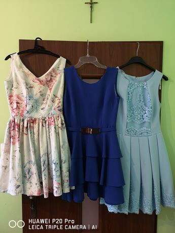 Komplet 3 sukienek roz34