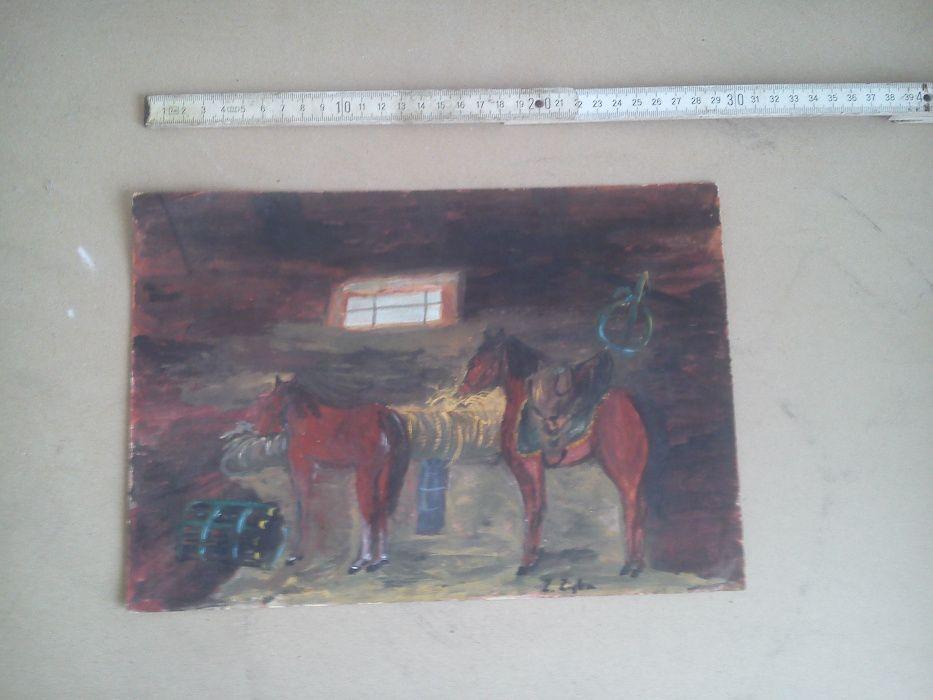 Stary obrazek papier Zabierzów - image 1